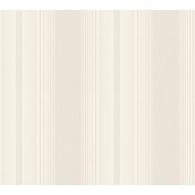 AS Création Streifentapete Hermitage 10 beige creme metallic 330852 10,05 m x 0,53 m