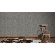 AS Création Streifentapete Kingston Strukturprofiltapete braun grau metallic 336394 10,05 m x 0,53 m