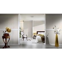 AS Création Streifentapete Kingston Strukturprofiltapete creme metallic weiß 324771 10,05 m x 0,53 m