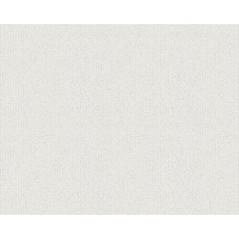 AS Création Streifentapete mit Glitter Bling Bling, Vliestapete, metallic, weiß 304931 10,05 m x 0,53 m