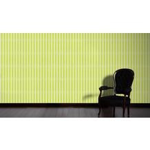 AS Création Streifentapete mit Glitter Bling Bling, Vliestapete, gelb, grün, weiß 10,05 m x 0,53 m