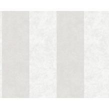 AS Création Blockstreifentapete Memory 3 Vliestapete beige metallic 953732 10,05 m x 0,53 m
