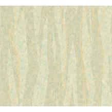 AS Création Streifentapete Siena Tapete beige grün metallic 329994 10,05 m x 0,53 m