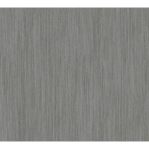 AS Création Streifentapete Siena Tapete grau metallic schwarz 328834