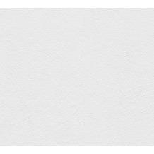 AS Création Strukturtapete Essentials Strukturprofiltapete Tapete weiß 335715 10,05 m x 0,53 m