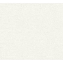 AS Création Strukturtapete Meisterputz Vliestapete weiß 15 m Rolle 336381 15,00 m x 0,53 m