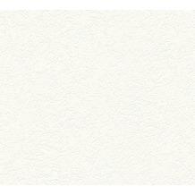 AS Création Strukturtapete Meisterputz Vliestapete weiß 15 m Rolle 337412 15,00 m x 0,53 m