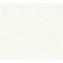 AS Création Strukturtapete Meisterputz Vliestapete weiß 15 m Rolle 337511 15,00 m x 0,53 m