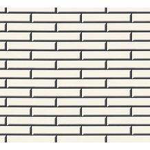 AS Création Tapete Il Decoro in Klinker Optik creme schwarz 342781 10,05 m x 0,53 m