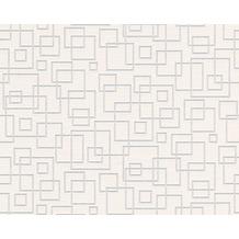 AS Création überstreichbare Vliestapete Meistervlies 4 GO, weiß 519719 - Quadrate