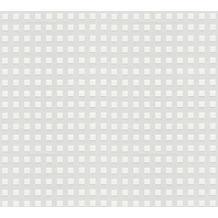 AS Création Vliestapete Meistervlies geometrische Tapete überstreichbar weiß 338211