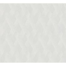 AS Création Vliestapete Meistervlies grafische Tapete überstreichbar weiß 938731