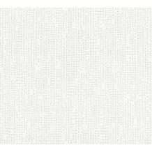 AS Création Vliestapete Meistervlies Strukturtapete überstreichbar weiß 354281 10,05 m x 0,53 m