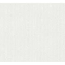 AS Création Vliestapete Meistervlies Strukturtapete überstreichbar weiß 354531 25,00 m x 1,06 m