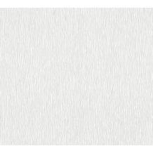 AS Création Vliestapete Meistervlies Strukturtapete überstreichbar weiß 354815 10,05 m x 0,53 m
