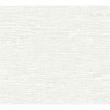 AS Création Vliestapete Meistervlies Strukturtapete überstreichbar weiß 355010 10,05 m x 0,53 m