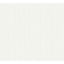 AS Création Vliestapete Meistervlies grafische Tapete überstreichbar weiß 355317 25,00 m x 1,06 m