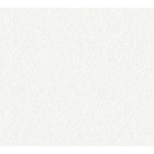 AS Création Vliestapete Meistervlies Strukturtapete überstreichbar weiß 355611 25,00 m x 1,06 m