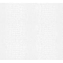 AS Création Vliestapete Meistervlies Tapete in Reptilien Optik überstreichbar weiß 950611 25,00 m x 1,06 m