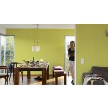 AS Création Uni-, Strukturtapete Colourfast, Vliestapete, grün 10,05 m x 0,53 m