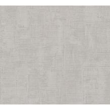AS Création Uni-, Strukturtapete Memory 3 Vliestapete grau 335943 10,05 m x 0,53 m