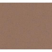 AS Création Uni-, Strukturtapete mit Glitter Midlands Vliestapete braun metallic 319681 10,05 m x 0,53 m