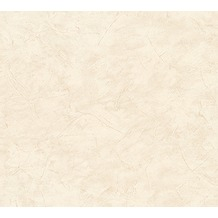 AS Création Uni-, Strukturtapete New Look Papiertapete beige 324482 10,05 m x 0,53 m
