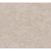 AS Création Uni-, Strukturtapete New Look Papiertapete braun 324485 10,05 m x 0,53 m