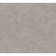 AS Création Uni-, Strukturtapete New Look Papiertapete grau 324481 10,05 m x 0,53 m