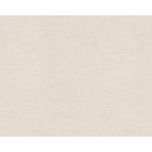 AS Création Uni-/Strukturtapete OK 5, Vliestapete, beige, creme 502124 10,05 m x 0,53 m