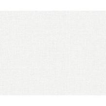 AS Création Uni-, Strukturtapete Shabby Style, Vliestapete, weiß 10,05 m x 0,53 m