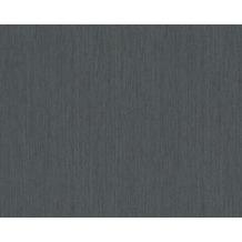 AS Création Uni-, Strukturtapete Spot 3 Vliestapete schwarz 937904 10,05 m x 0,53 m