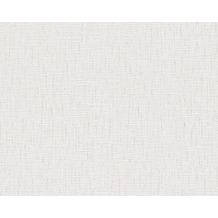 AS Création Unitapete Belle Epoque Strukturprofiltapete grau weiß 647139 10,05 m x 0,53 m