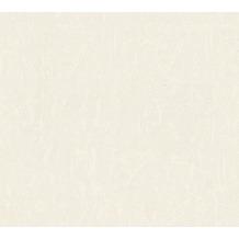 AS Création Unitapete Château 5 Vliestapete metallic weiß 345022 10,05 m x 0,53 m
