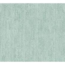 AS Création Unitapete in Vintage Optik Havanna Tapete blau grün metallic 325258 10,05 m x 0,53 m