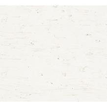 AS Création Unitapete in Vintage Optik Scandinavian Style grau metallic weiß 341321 10,05 m x 0,53 m