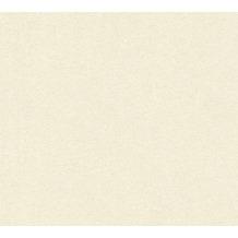 AS Création Unitapete Kingston Strukturprofiltapete creme metallic 344551 10,05 m x 0,53 m
