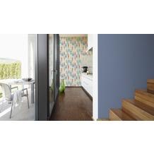 AS Création Unitapete Kitchen Dreams Tapete blau 10,05 m x 0,53 m