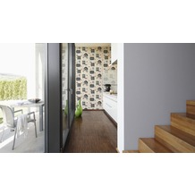 AS Création Unitapete Simply Decor Tapete grau metallic 10,05 m x 0,53 m