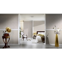 AS Création Unitapete New Classics, Tapete, beige, creme 10,05 m x 0,53 m