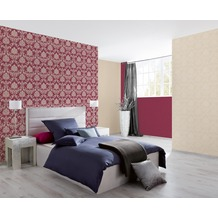 AS Création Unitapete New Classics, Tapete, rot, lila 10,05 m x 0,53 m