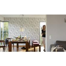 AS Création Unitapete Scandinavian Blossum, Vliestapete, beige, creme 10,05 m x 0,53 m