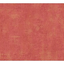 AS Création Unitapete Siena Tapete metallic rot 328812 10,05 m x 0,53 m