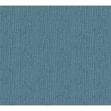 AS Création Unitapete Strukturtapete Urban Life Vliestapete blau metallic 326582 10,05 m x 0,53 m