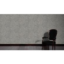 AS Création Vintage Unitapete Borneo Tapete grau metallic 10,05 m x 0,53 m