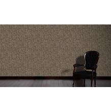 AS Création Vintage Unitapete Borneo Tapete metallic schwarz 10,05 m x 0,53 m
