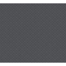 AS Création Vliestapete Asian Fusion geometrische Tapete asiatisch metallic schwarz grau 374681 10,05 m x 0,53 m