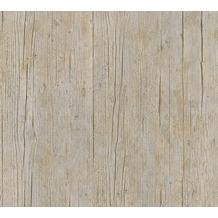 AS Création Vliestapete Authentic Walls 2 Tapete in Holz Optik braun orange 364873 10,05 m x 0,53 m