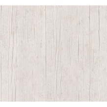 AS Création Vliestapete Authentic Walls 2 Tapete in Holz Optik weiß grau beige 364872 10,05 m x 0,53 m