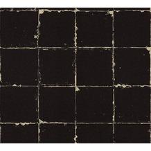 AS Création Vliestapete Authentic Walls 2 Tapete in Vintage Optik beige schwarz 366641 10,05 m x 0,53 m
